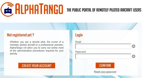 enregistrement alphatango Eng